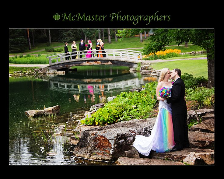 Wedding gowns don't have to be traditional put your own personality into it. #yeg #yegwedding #edmontonphotography