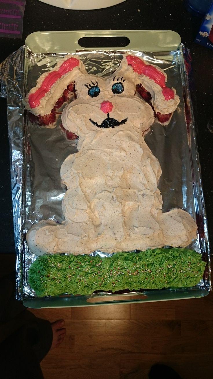 Pull apart easter cake Cupcake - kake til Påske