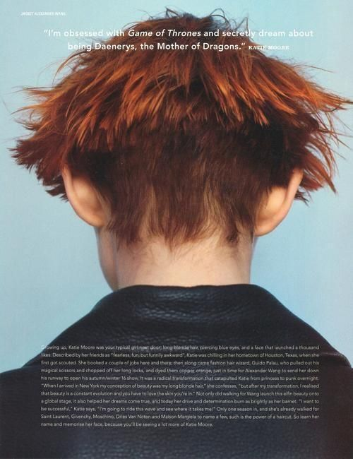 Curious for Moore? (i-D Magazine)