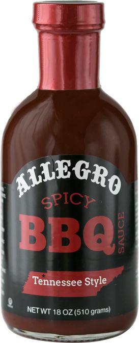 Allegro Fine Foods Spicy BBQ Sauce