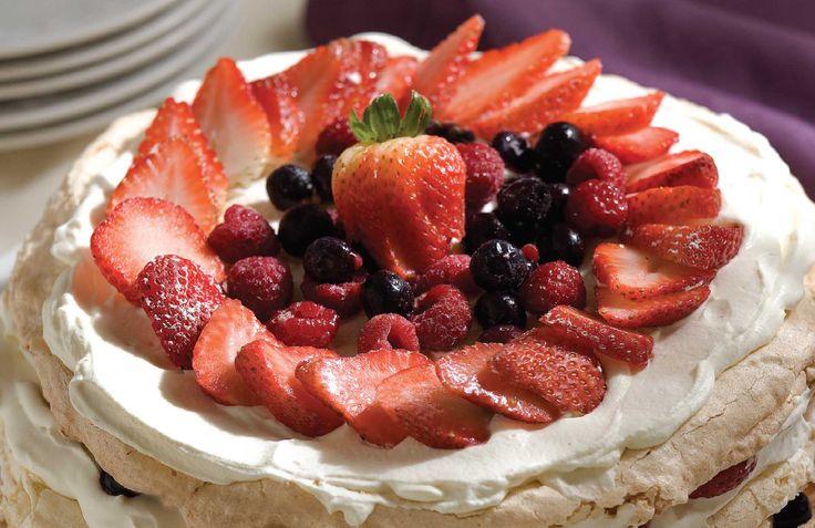 Torta crocante de merengue