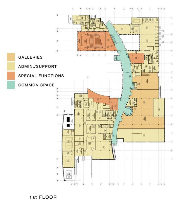 Image 20 of 20 from gallery of Musical Instrument Museum / RSP Architects. Floor Plan