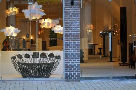 Pendant light Le Nuage -  Ausgefallene Lampe aus recyceltem Schaumstoff