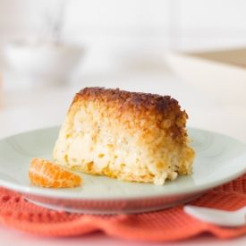 Satsuma Mandarins and brown rice pudding recipe