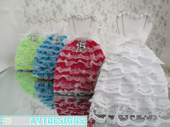Quinceanera Favors (50ct) Quinceanera Dress Favor Boxes- on Etsy, $105.00