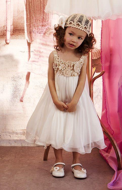 Christening Dress Sty.No 4923-1  Baptism Dress www.babyhautecouture.com