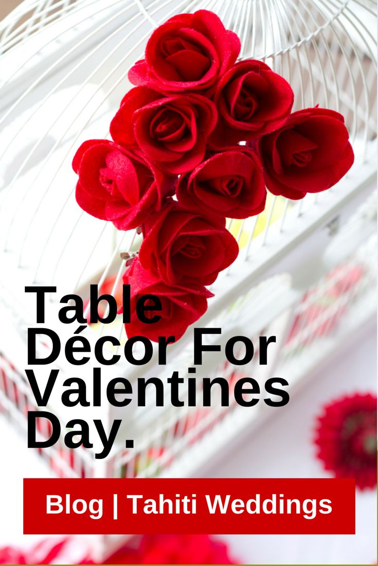 Valentine table decorations pinterest - Table Decor For Valentines Day Click To Read Full Instructions On How To Do Here