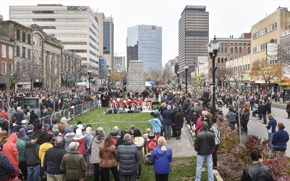 Tomorrow is #Remembrance Day. Here's a list of ceremonies in the #HamOnt area http://www.thespec.com/news-story/6956703-remembrance-ceremonies-in-the-hamilton-area/ …