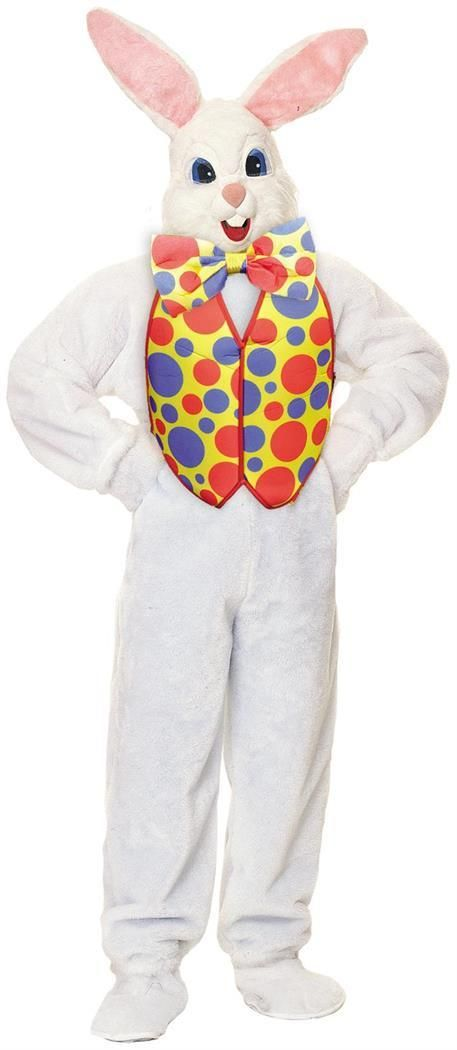 Vivacious Supreme Easter Bunny Adult Costume. Endless Range of Funny Humorous Costumes for Halloween at Partybell.     #easter #bunny #easterbunny