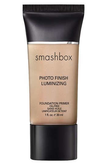 In my opinion, the best foundation primer on the market.  This Luminizing primer gives a nice, subtle glow and isn't at all too shimmery or orangey.  If you like a matte look (yawn) then use the regular Smashbox primer.  Using a foundation primer is an extra step, but it fills in fine lines and pores. It also keeps your makeup looking fresh all day long.  I find that this primer evens out my skin tone and gives some life to my skin.  Sometimes I even skip the foundation.