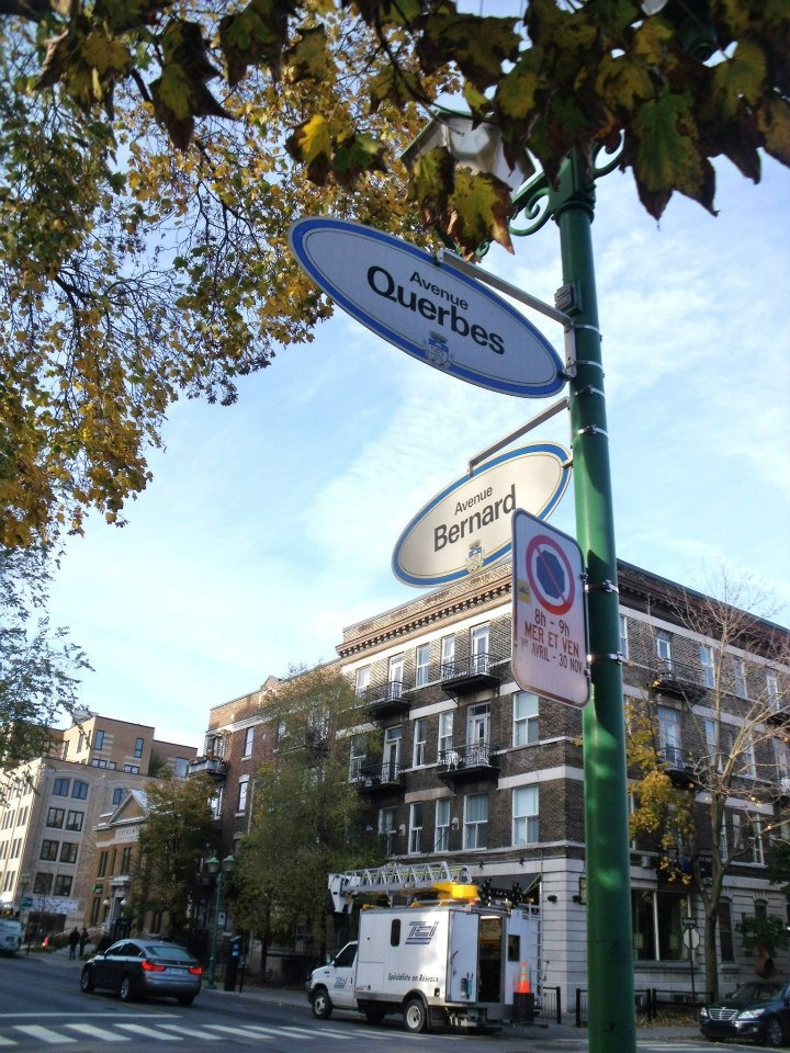 Querbes and Bernard in Outremont