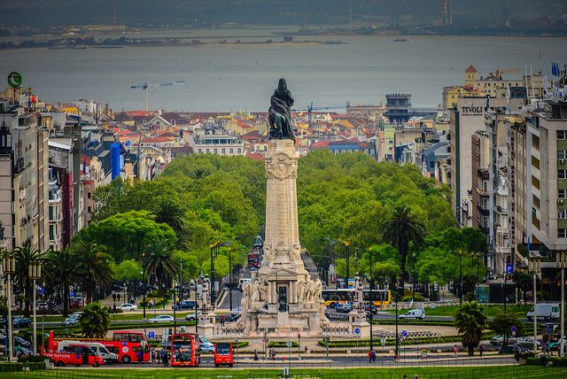 Marques de Pombal Monument - Lisbon Portugal | Flickr - Photo Sharing!