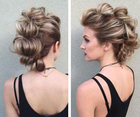 Night out hairstyle                                                                                                                                                                                 More