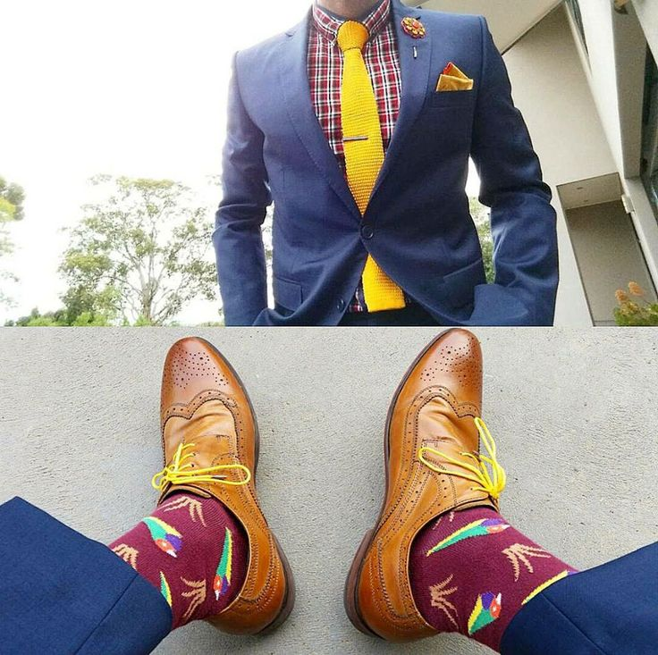 The ever dapper Steve Tilly, showing off 'the Gouldian' with some great accessory pairings.