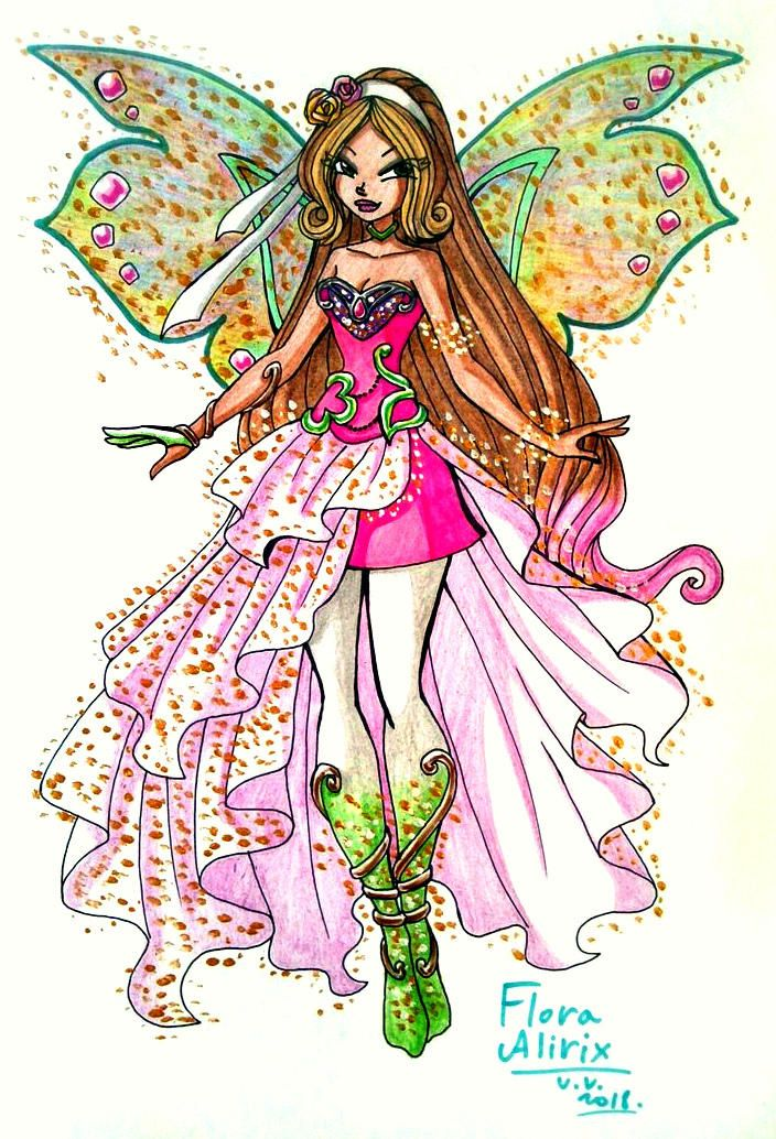 Flora Alirix By Vivienvaider With Images Winx Club Character