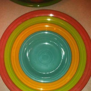 Fiesta Dinnerware set- Love this color combo!  sc 1 st  Pinterest & 1643 best Fiesta ware images on Pinterest | Fiesta ware Homer ...
