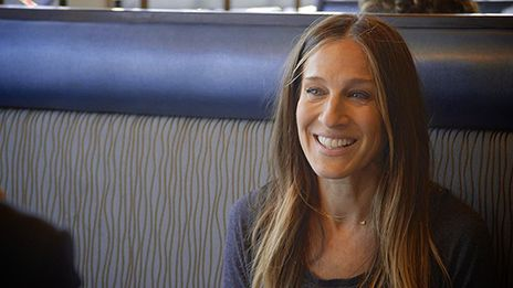 I have already watched this twice:  Sarah Jessica Parker A Little Hyper-Aware  - Comedians In Cars Getting Coffee by Jerry Seinfeld