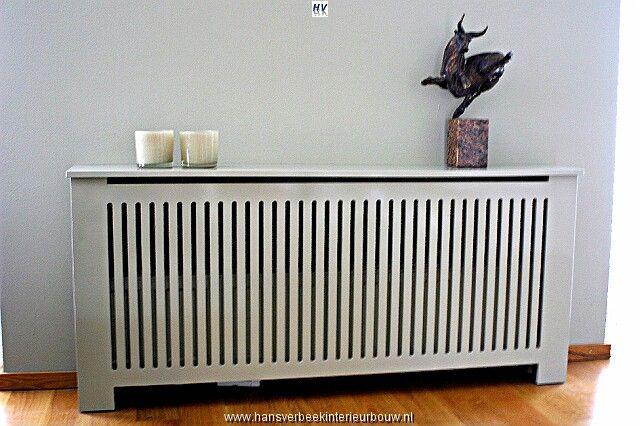 Voorbeeld radiatorombouw