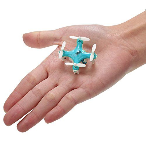 Coocheer JJRC D1 Headless Mini Drone Quadcopter Toy 2.4G 4CH 6-Axis Quadcopter UFO Nano Micro Blue - http://www.midronepro.com/producto/coocheer-jjrc-d1-headless-mini-drone-quadcopter-toy-2-4g-4ch-6-axis-quadcopter-ufo-nano-micro-blue/