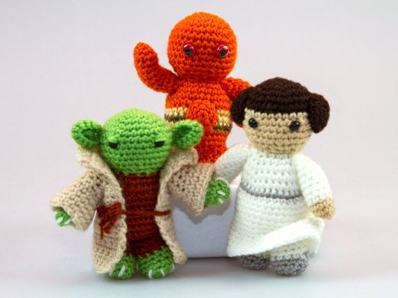 Jedi Master Yoda Amigurumi Pattern : The 180 best images about Crafts - Crochet for Kids on ...