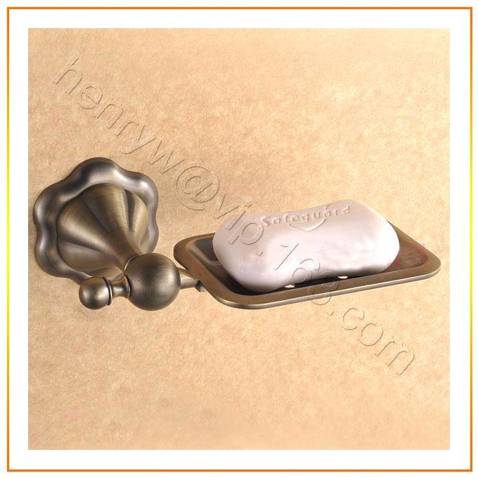 Розничная торговля - люкс латуни держатель мыла, бронзовая отделка мыльница, настенные, бесплатная доставка L15612