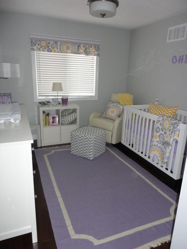 324 best purple room images on pinterest child room babies nursery and babies rooms. Black Bedroom Furniture Sets. Home Design Ideas