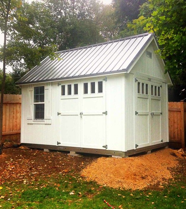 Storage Shed | Garden Shed | Metal Roof | Cheely-10×12-Custom-Shed-Gallery