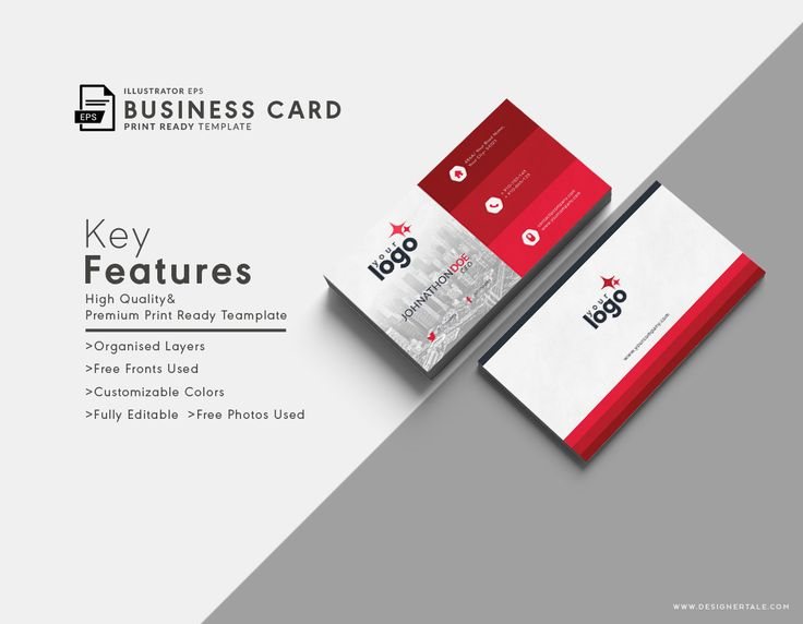 Best Business Card Templates Free Vector PSD Print Ready - Personal business cards templates free