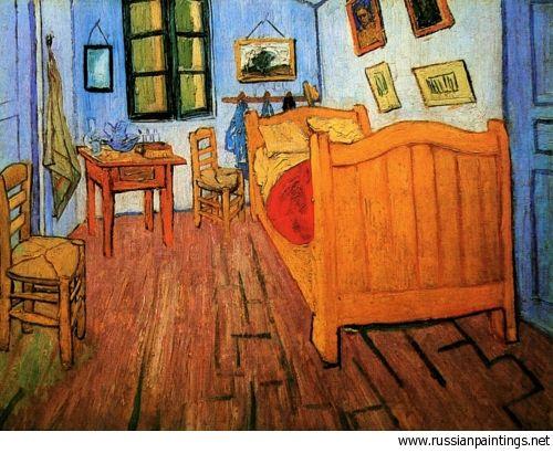 Gogh Vincent van - \'Vincent\'s Bedroom in Arles\' | Vincent van Gogh ...