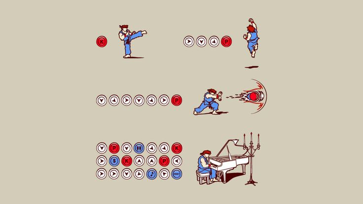 How to Play Street Fighter [2560 x 1440]