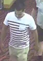Detectives investigating the serious assault of a security guard at a Carina sports club have released a CCTV image of a man that they want to speak to about the incident. Just before 11pm on Saturday November 2 2013, a man who was being removed from the Creek Street venue struck the 30-year-old security guard in the face. The man fled before police arrived. If you know this man, contact Morningside Police on 07 3823 8672 or Crime Stoppers on 1800 333 000.