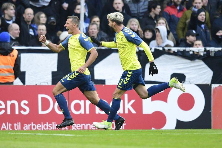 Startopstillingen til opgøret mod FC Helsingør - Brøndby IF