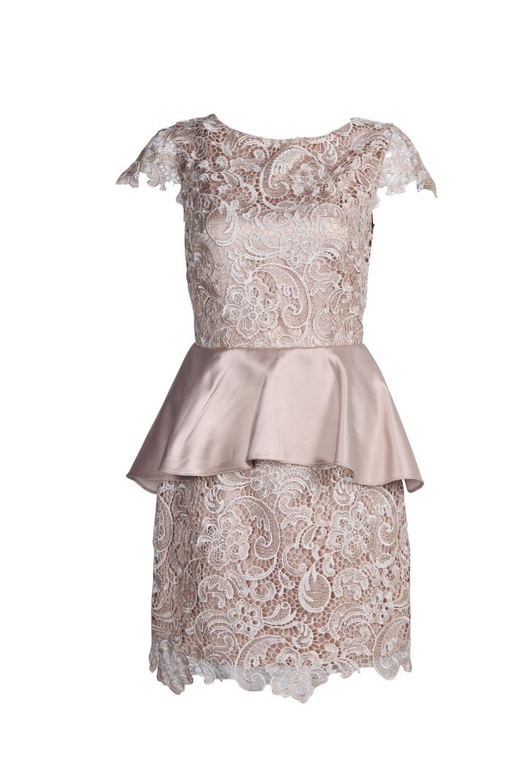 Elegant peplum dress!!!