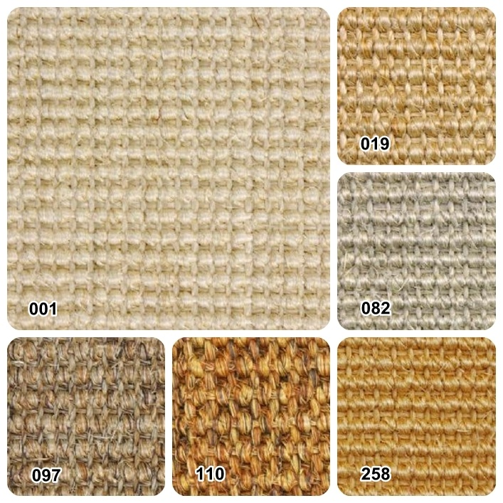 Sisal or seagrass carpet, will create a neutral flooring, but also replicate the…