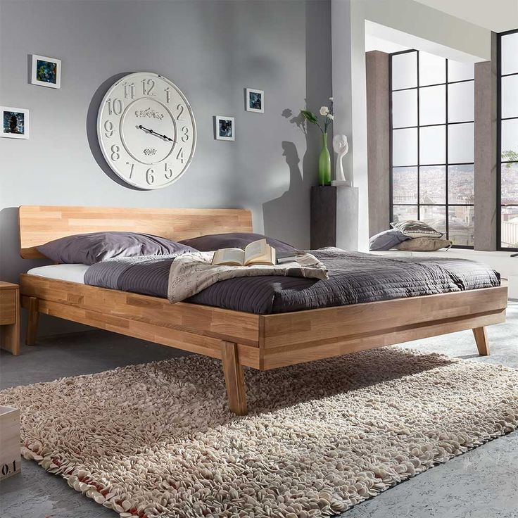 Более 25 лучших идей на тему «Massiv bett» на Pinterest Bett - zirbenholz schlafzimmer modern