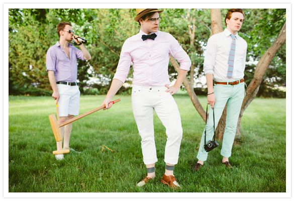 Smashing Croquet Party requires crowd willing to dress the part
