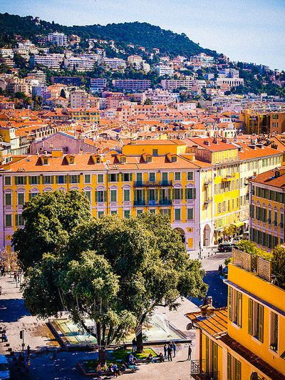 Nice, France. So gorgeous and full of colors