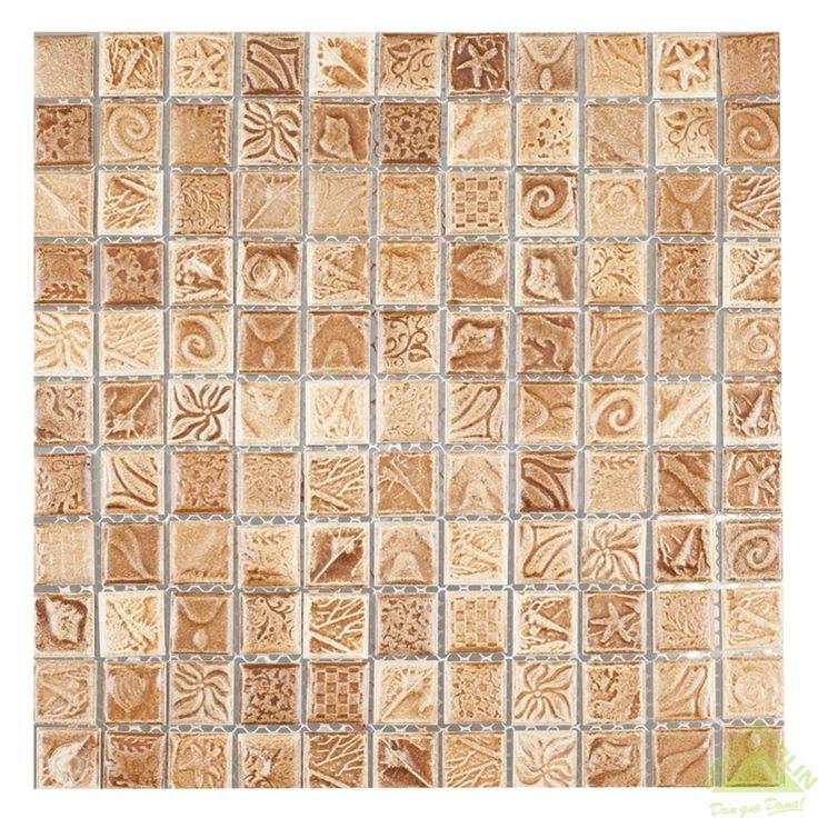 Мозаика керамическая Artens, шоколадный микс, 297х297х5 мм, Мозаика - Каталог Леруа Мерлен