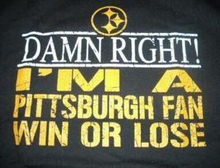 PITTSBURGH STEELERS~win or lose