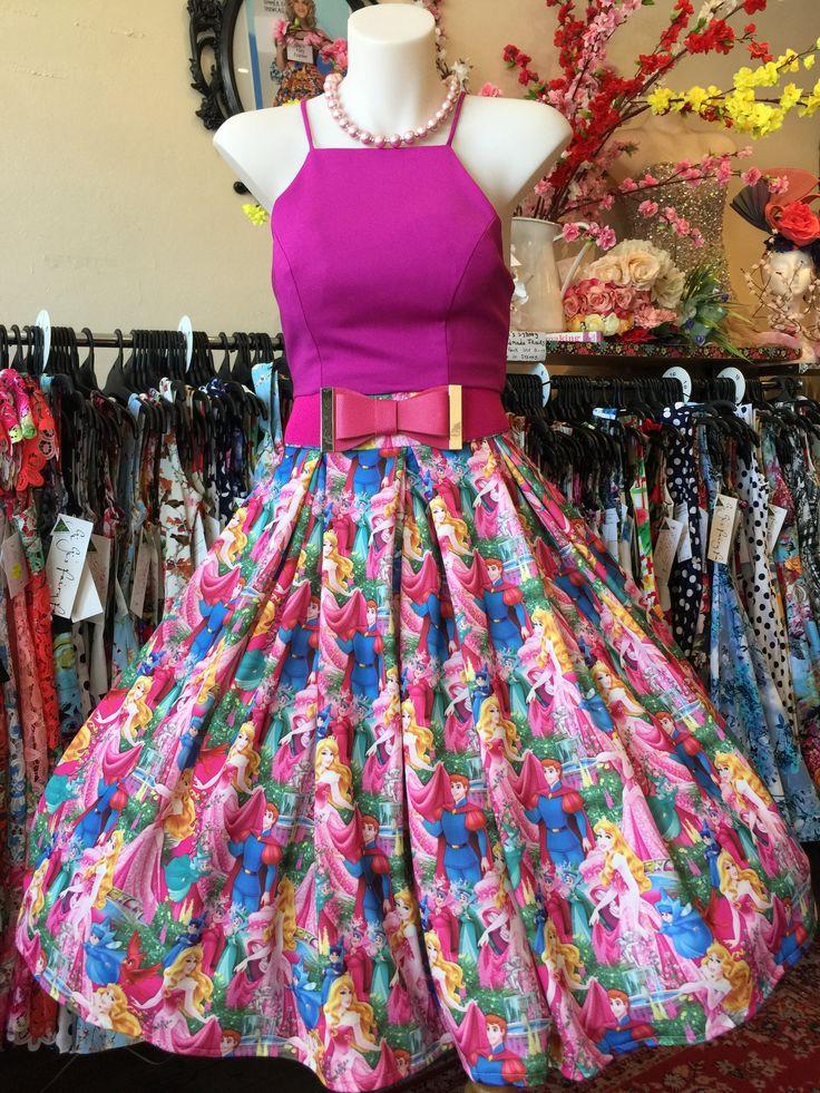 Sleeping Beauty Double Box Pleated Skirt – GiGi's Fairy Fashion