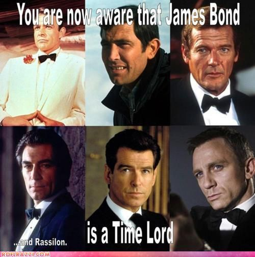 Makes so much sense: James Of Arci, Jamesbond, Bows Ties, James Bond, Doctors Who, Movie, Dr. Who, Bond 007, Time Lord