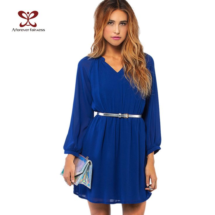 2017 Summer Women Dress Long Sleeve Waist Elastic Chiffon Brief //Price: $29.68 & FREE Shipping //http://likeadiamondworld.com/2016-summer-women-dress-long-sleeve-waist-elastic-chiffon-brief-casual-dress-for-women-plus-size-party-dresses-vestidos-nc-406/