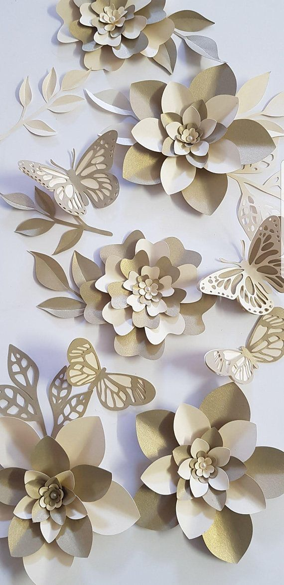 Table Decorations Parties Paper Flower Decorations 7 Table