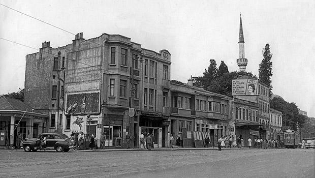 İstanbul semtlerinden tarihi fotoğraflar Beşiktaş 1958