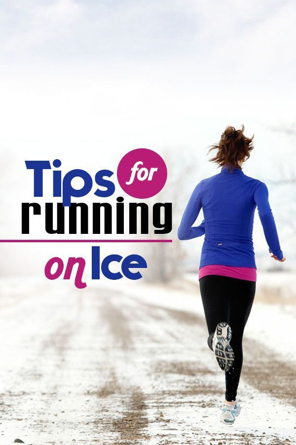 Tips for Running on Ice  and Snow safely this winter