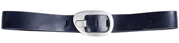 Gürtel  CROSS Jeans®  Das perfekte Accessoire zu jeder Jeans. Moderner Gürtel aus echtem Rindsleder mit silberner Metallschließe, 4 cm breit Material: 100 % Leder...