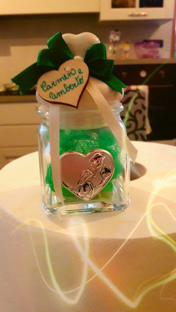 Bomboniere per le nozze d smeraldo...40 anni