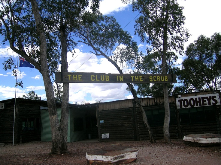 Club in the Scrub near the Grawin opal field out from Lightning Ridge