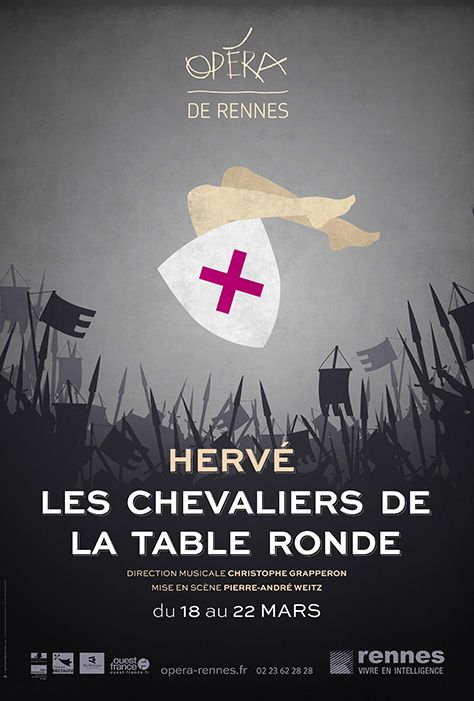 16 best images about affiches pour op ra de rennes on for La table d hippolyte rennes