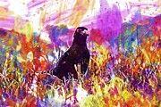 """New artwork for sale! - """" Kos Bird Worm  by PixBreak Art """" - http://ift.tt/2uEgIvE"""